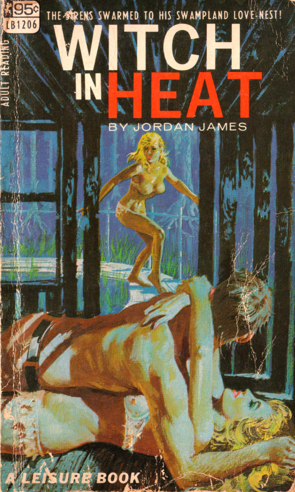 Leisure Books LB1206 - Witch In Heat (1967)