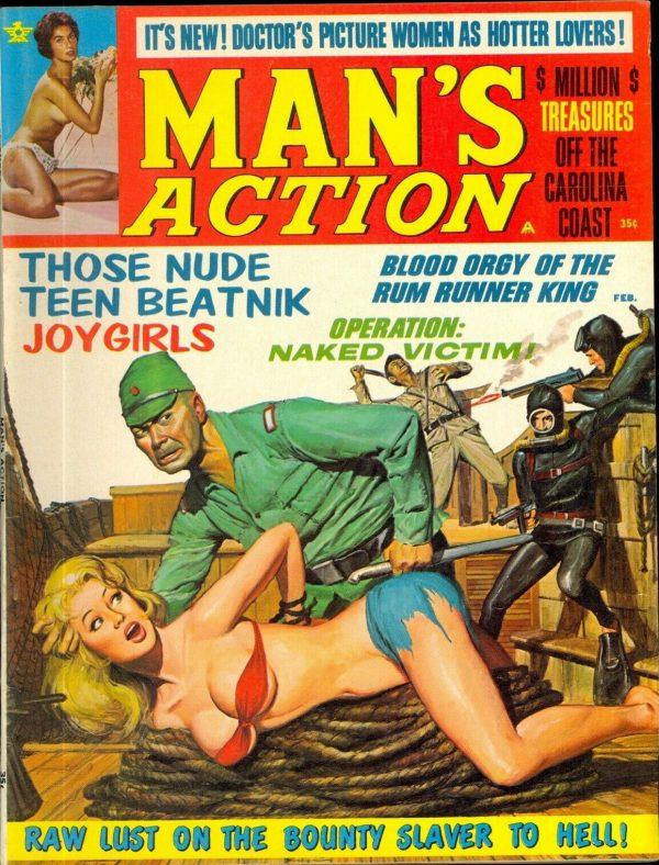 Man's Action Feb 1968
