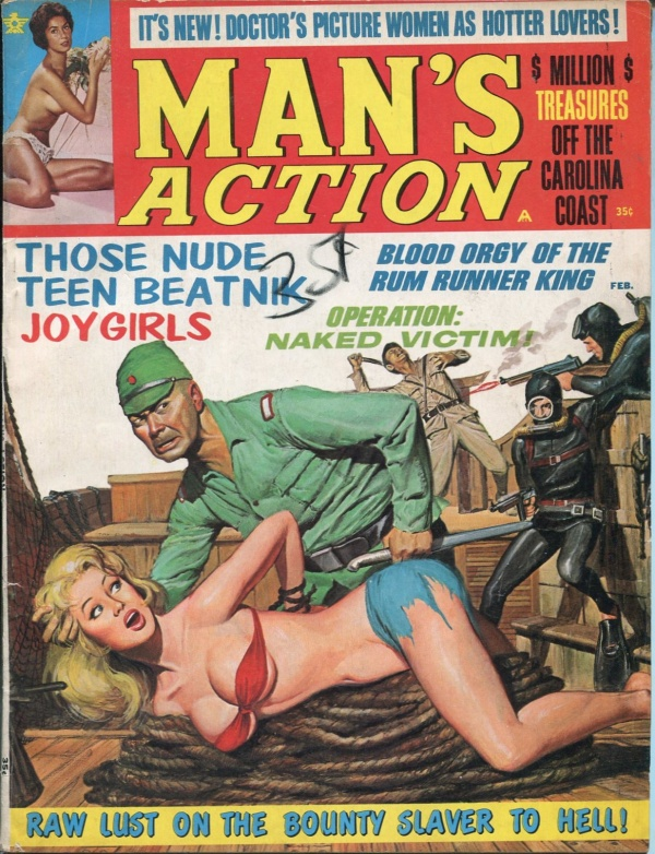 Man's Action February 1968