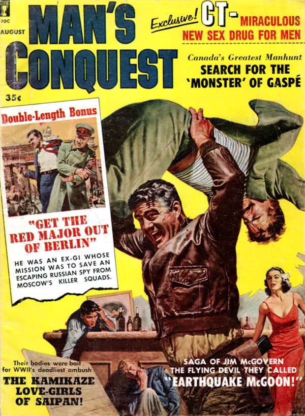 Man's Conquest August 1960