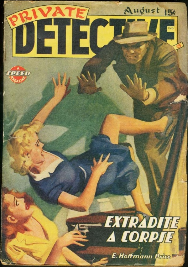 Private Detective August 1943