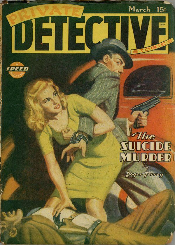 Private Detective Magazine March 1945