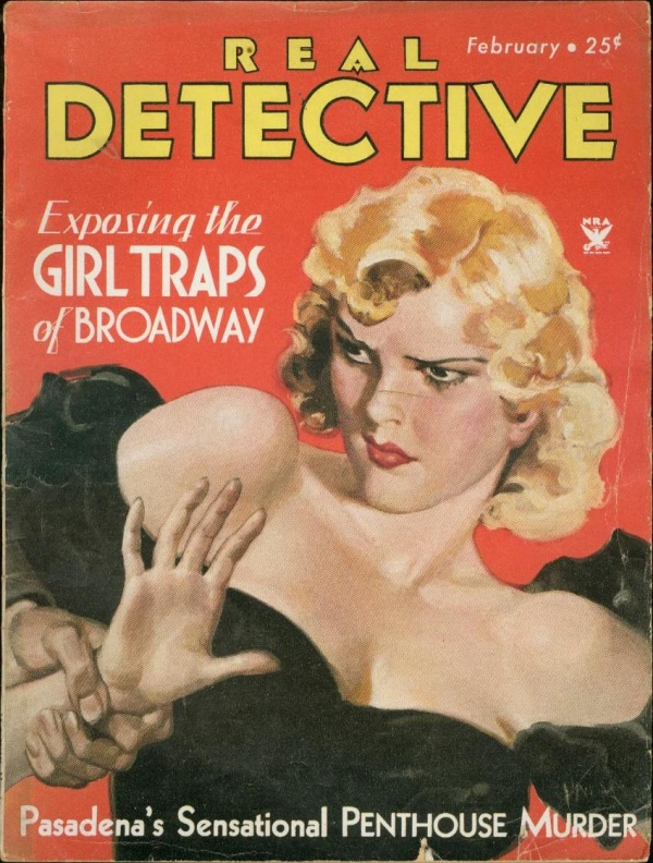Real Detective February 1934