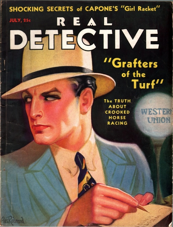 Real Detective July 1932