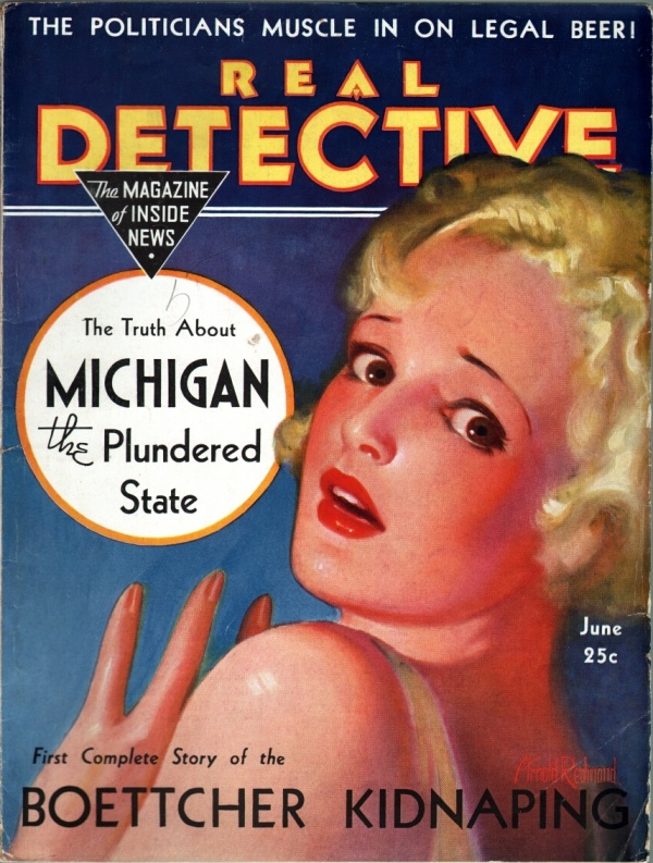 Real Detective June 1933