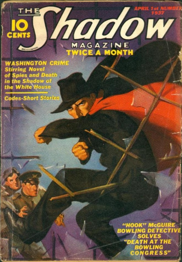 Shadow Magazine Vol 1 #123 April, 1937