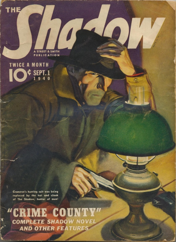 Shadow Magazine Vol 1 #205 September, 1940