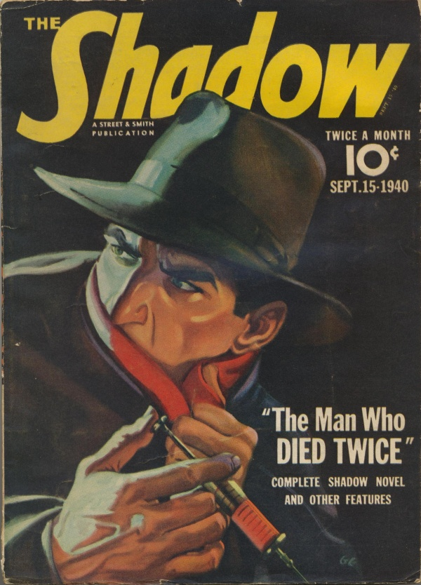 Shadow Magazine Vol 1 #206 September, 1940