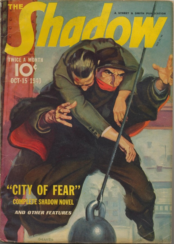 Shadow Magazine Vol 1 #208 October, 1940