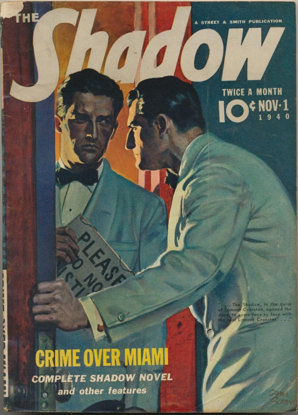 Shadow Magazine Vol 1 #209 November, 1940