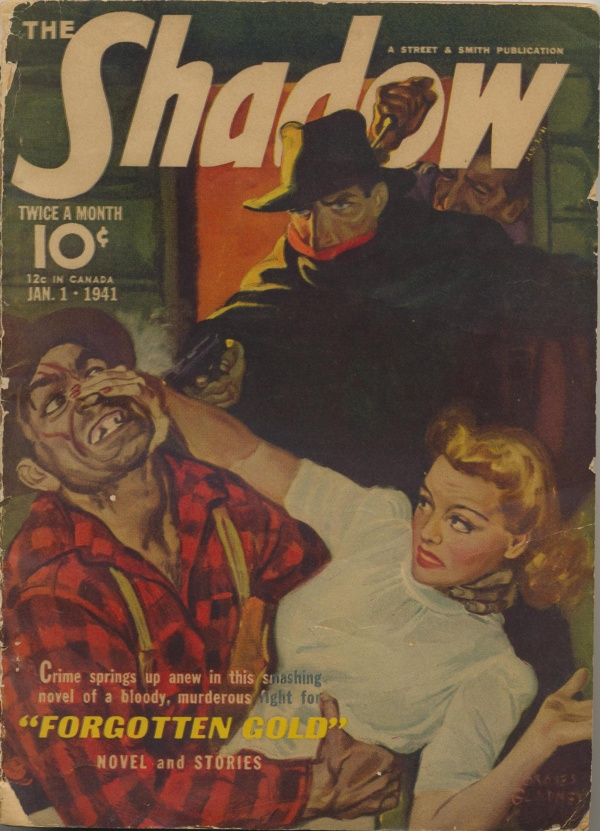 Shadow Magazine Vol 1 #213 January, 1941