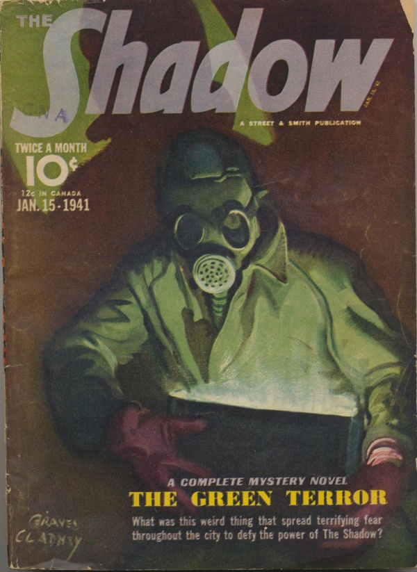 Shadow Magazine Vol 1 #214 January, 1941