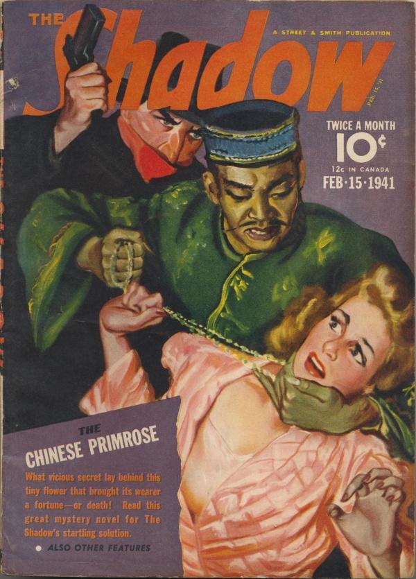 Shadow Magazine Vol 1 #216 February, 1941