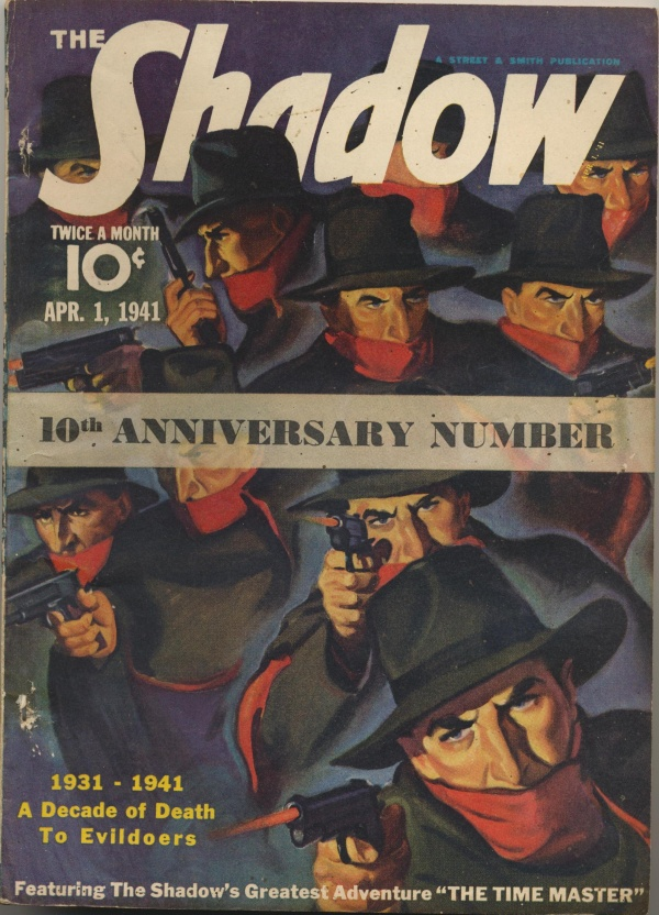 Shadow Magazine Vol 1 #219 April, 1941