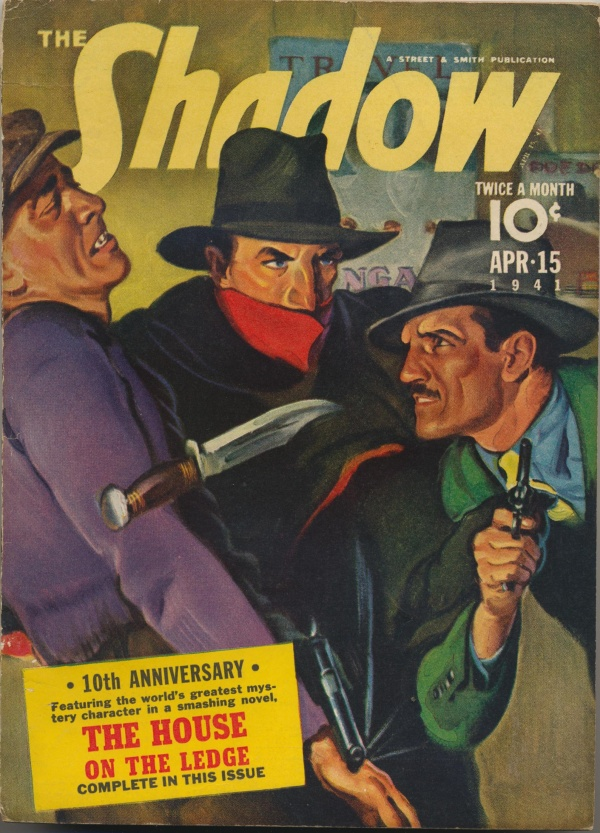 Shadow Magazine Vol 1 #220 April, 1941
