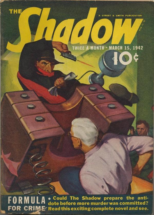 Shadow Magazine Vol 1 #242 March, 1942