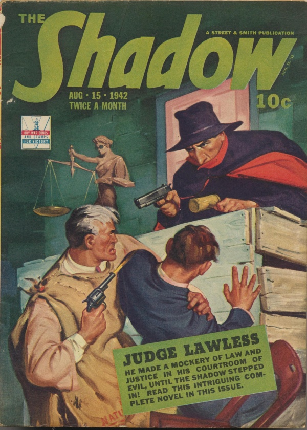 Shadow Magazine Vol 1 #252 August, 1942