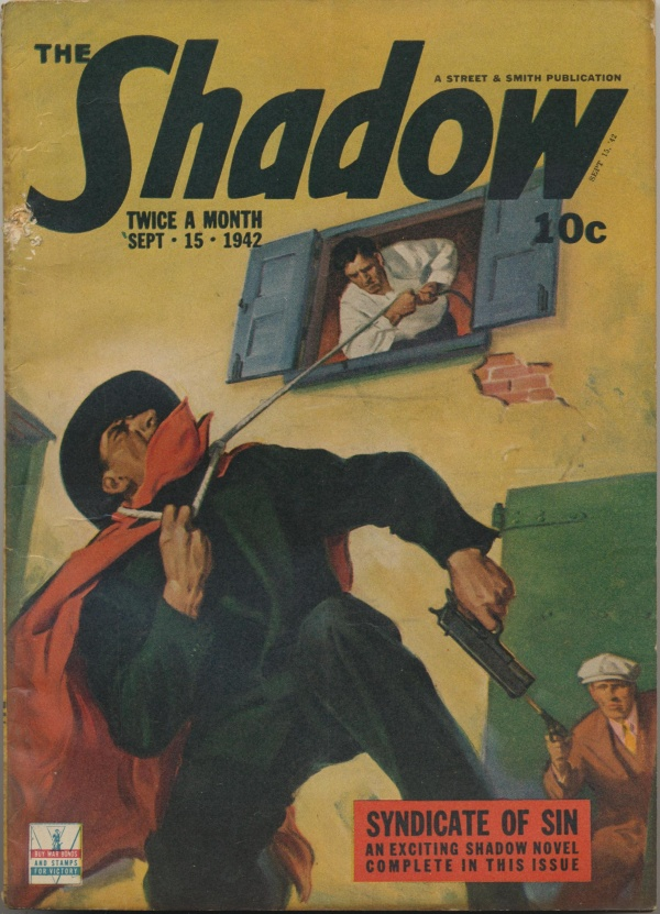 Shadow Magazine Vol 1 #254 September, 1942