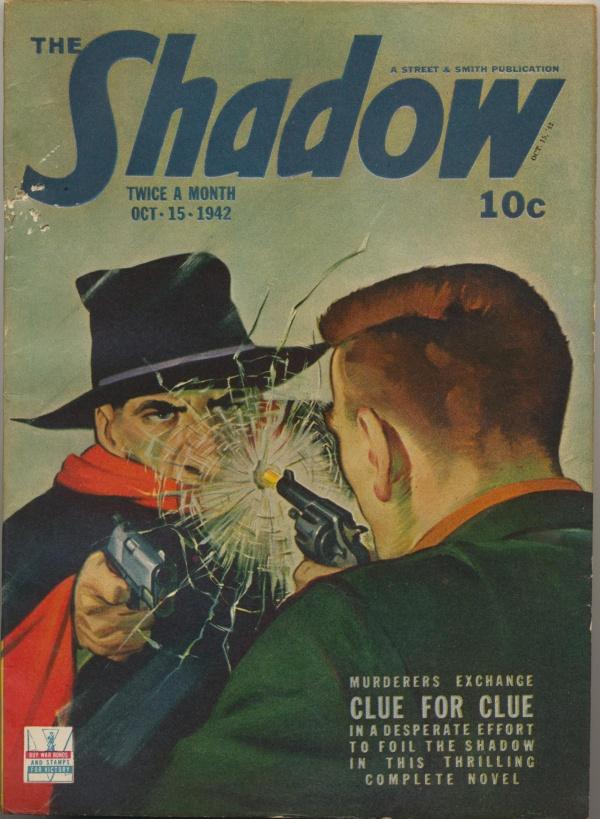 Shadow Magazine Vol 1 #256 October, 1942