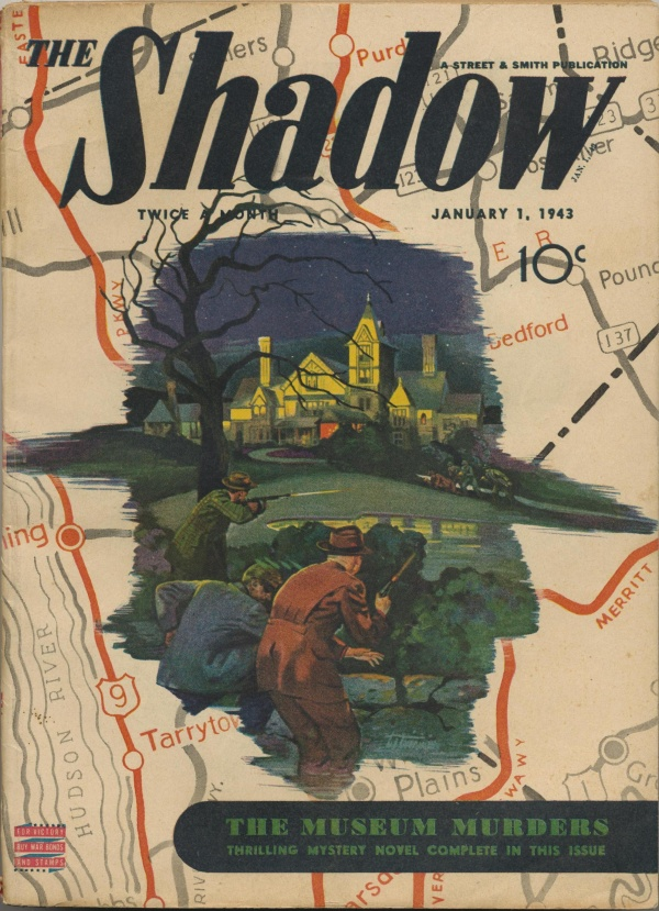 Shadow Magazine Vol 1 #261 January, 1943