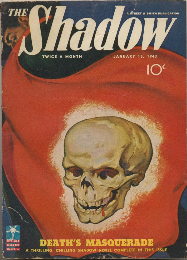 Shadow Magazine Vol 1 #262 January, 1943
