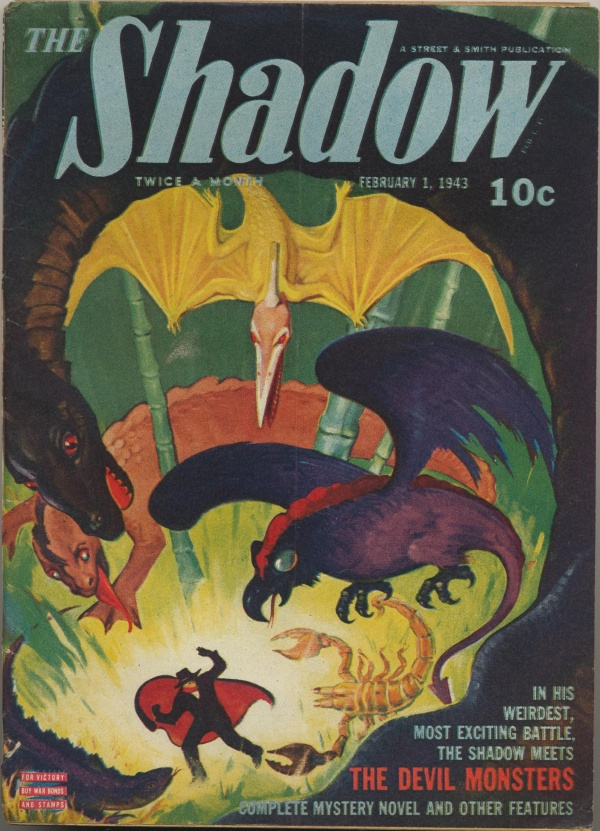 Shadow Magazine Vol 1 #263 February, 1943