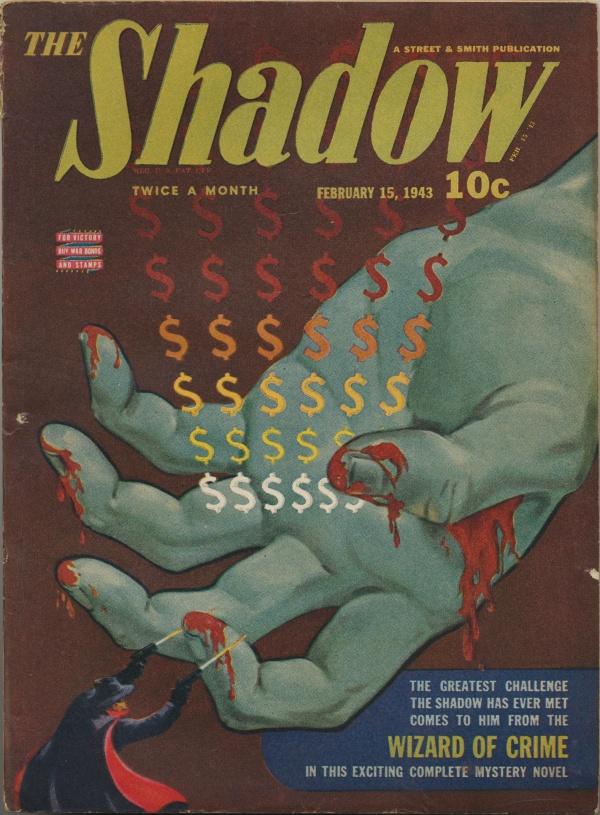 Shadow Magazine Vol 1 #264 February, 1943