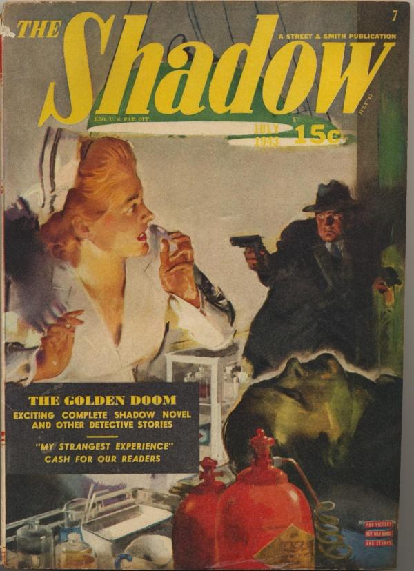 Shadow Magazine V45#5 July, 1943