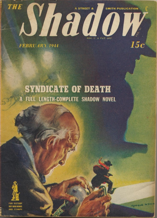 Shadow Magazine Vol 1 #276 February, 1944