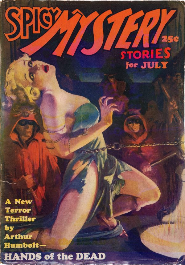 Spicy Mystery Stories - July 1935