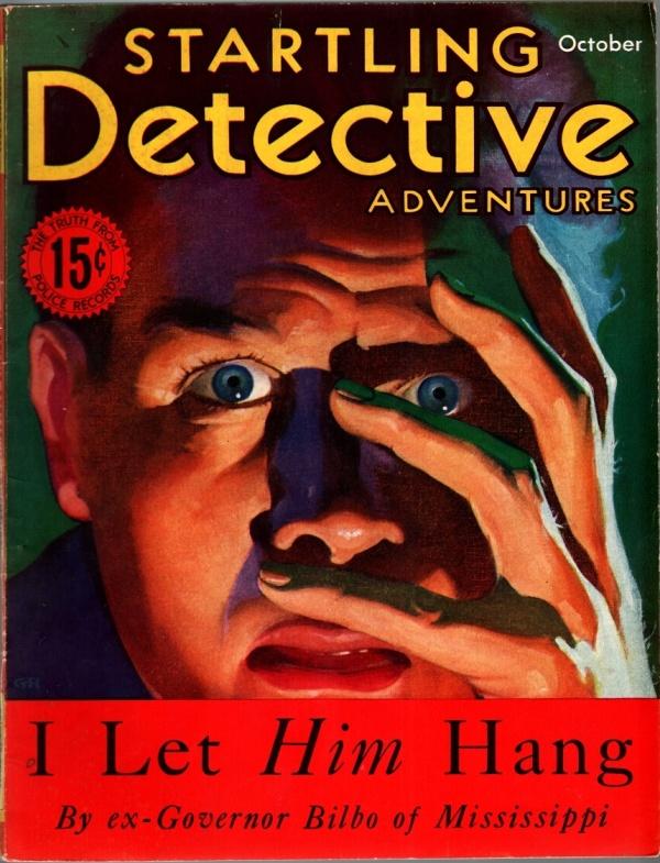 Startling Detective Adventures October 1933