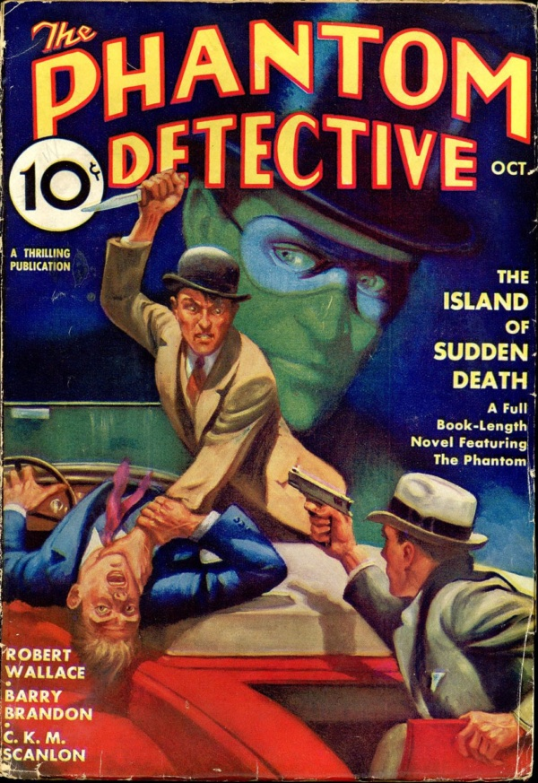 THE PHANTOM DETECTIVE. October 1935