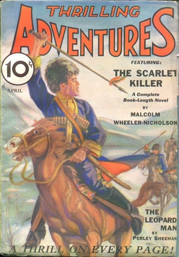 Thrilling Adventures April 1932