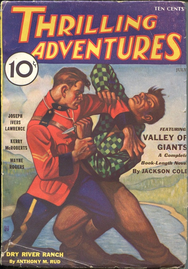 Thrilling Adventures July 1933