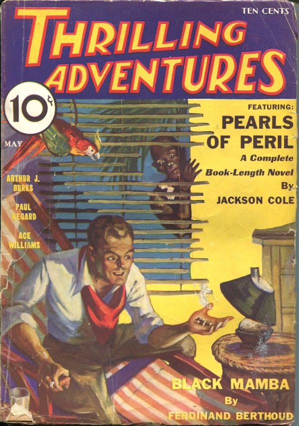 Thrilling Adventures May 1933
