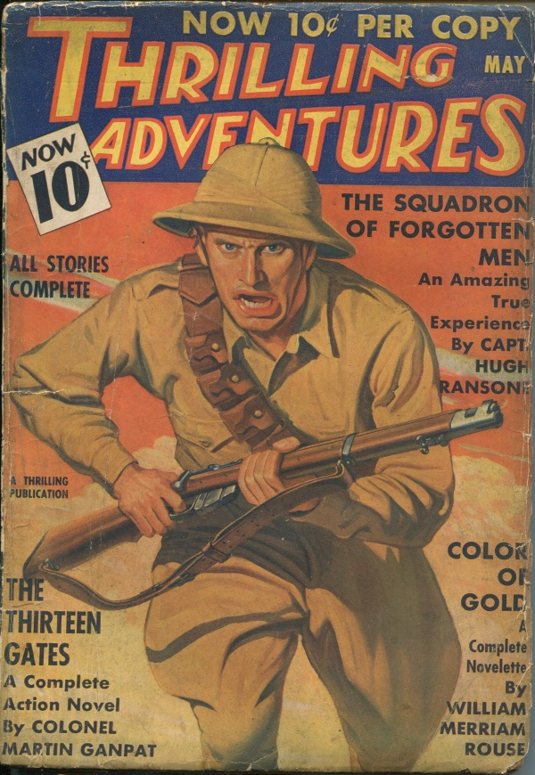 Thrilling Adventures May 1936