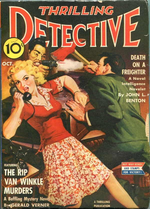 Thrilling Detective October 1942