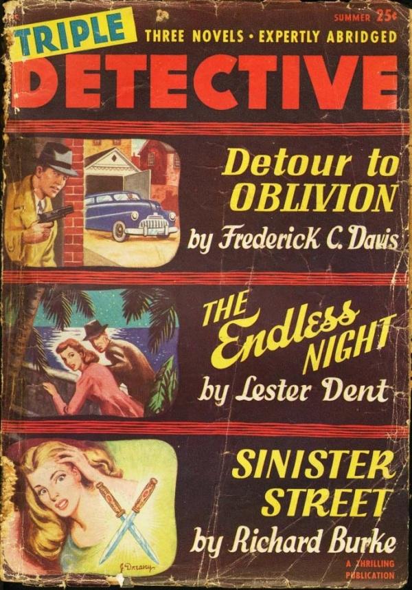 Triple Detective Summer 1949
