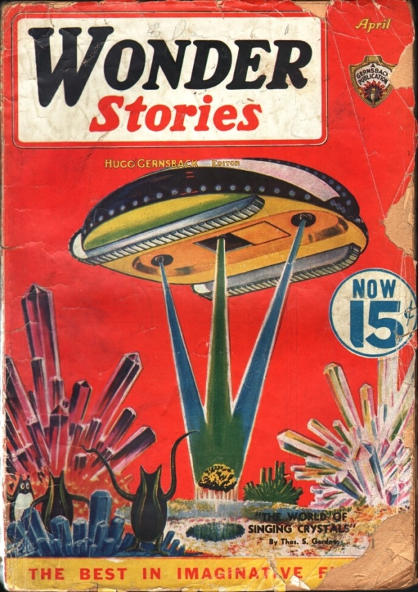 Wonder Stories, March-April 1936