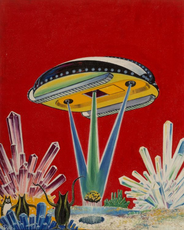 Wonder Stories magazine cover, April 1936