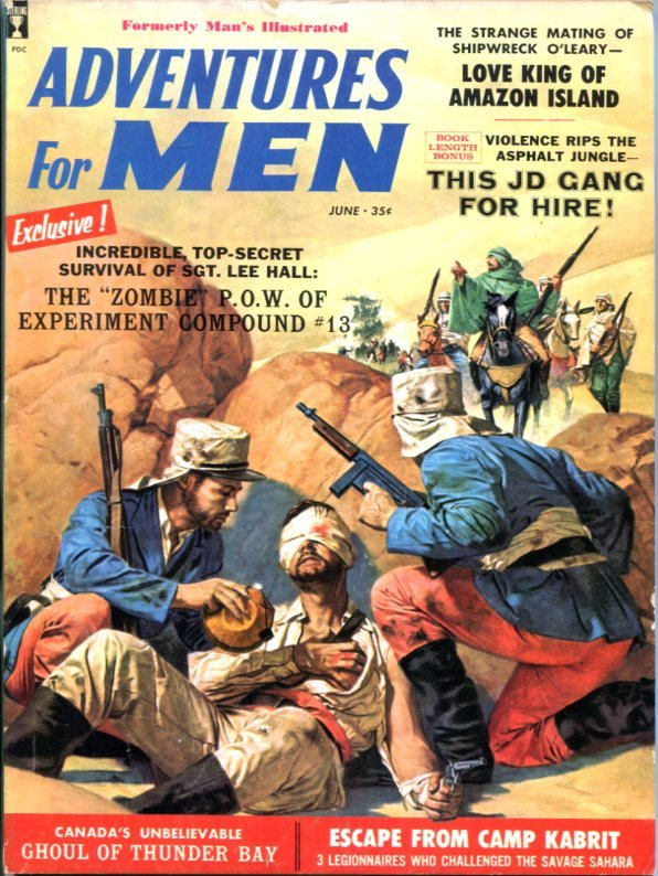 Adventures For Men June 1959