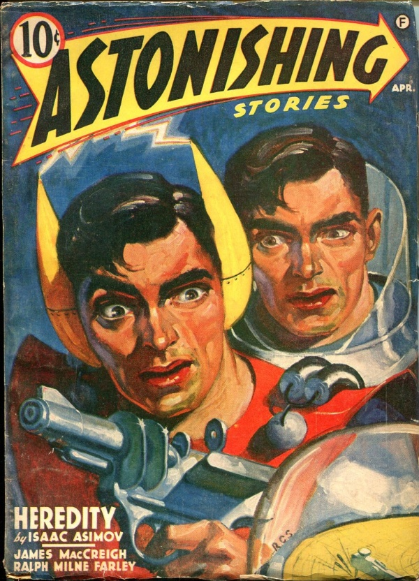 Astonishing Stories April 1941