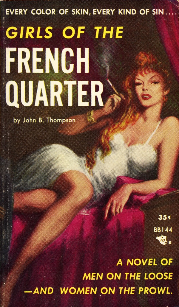 Beacon Books BB144 - John B. Thompson - Girls of the French Quarter