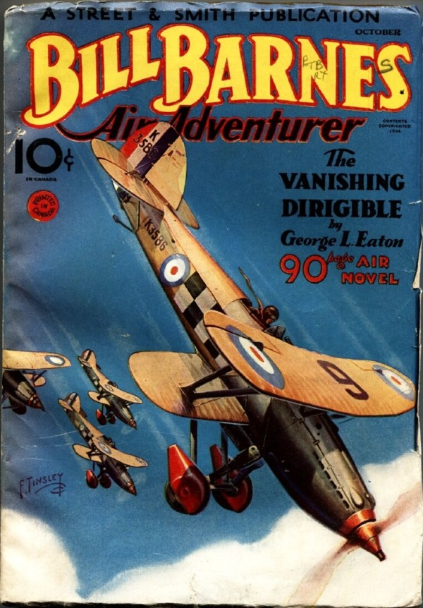 Bill Barnes Air Adventurer October 1934