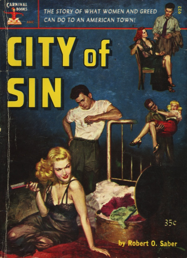 Carnival Books 922 - Robert O. Saber - City of Sin