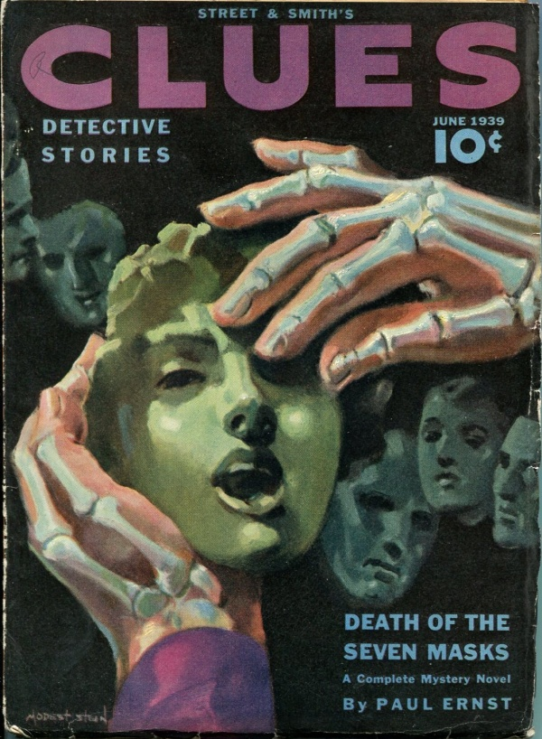 Clues Detective Stories June 1939