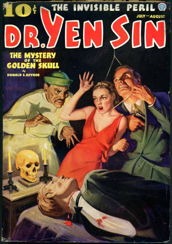 DR. YEN SIN. July-August 1936