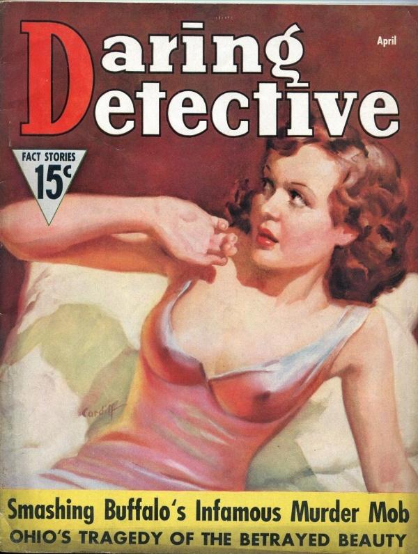 Daring Detective April 1937