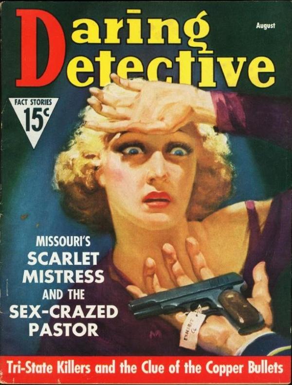 Daring Detective August 1937