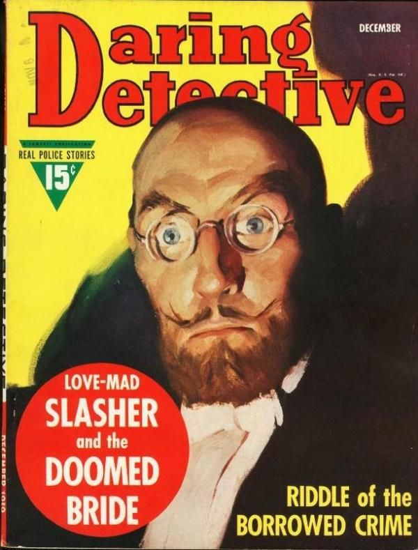 Daring Detective December 1939